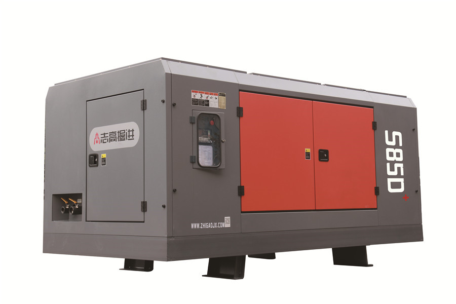 Diesel fixed screw air compressor